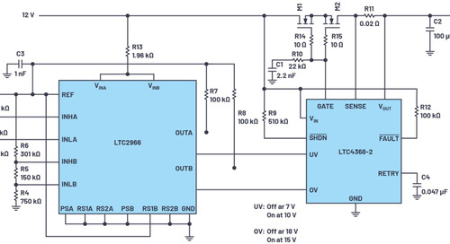 Designing a Wide Voltage Range Automotive Circuit Protector