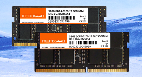 MEMXPRO Releases 32GB Native Industrial DDR4-3200 DRAM