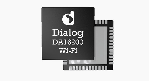 Dialog Semiconductor Extends IoT Connectivity Portfolio