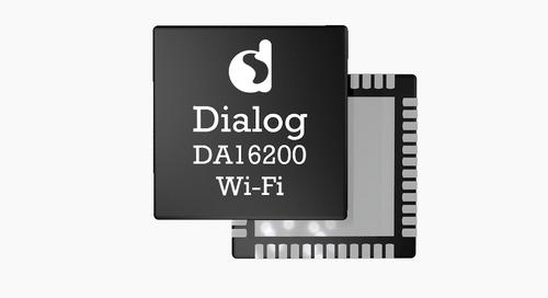 Dialog Semiconductor Extends IoT Connectivity Portfolio