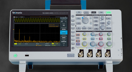 Newark Launches New Tektronix Digital Storage Oscilloscope