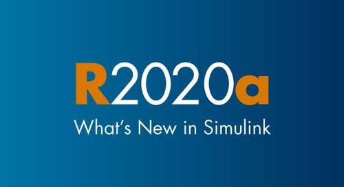 MathWorks Introduces the Release 2020a of MATLAB and Simulink