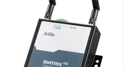 Artila Reveals New Wide Temperature Wireless Gateway, the Matrix-702
