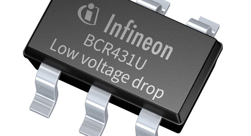 Infineon Releases the  BCR431U Constant Current Linear LED Driver IC