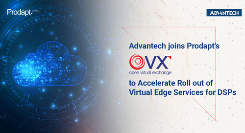 Advantech joins Prodapt's Open Virtual Exchange to Accelerate Roll out of Virtual Edge Services for Digital Service Providers