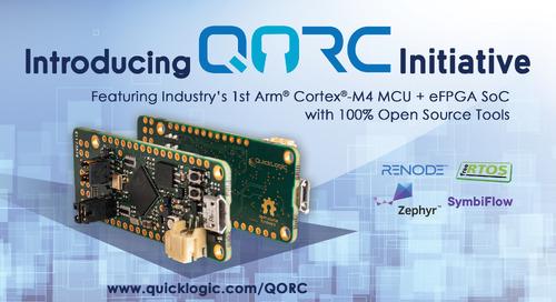 QuickLogic Announces Open Reconfigurable Computing Initiative