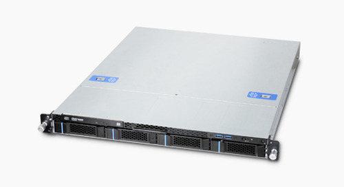 Chenbro RB14604 - Affordable Level 6 1U Rackmount Server Barebone for Xeon®E