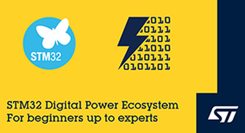 STMicroelectronics Launches STM32 Digital-Power Ecosystem