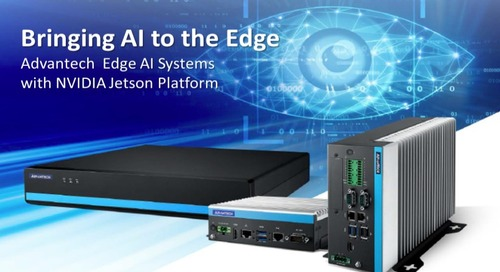 Advantech Launches Industrial Edge AI Computer Leveraging NVIDIA Jetson Xavier NX