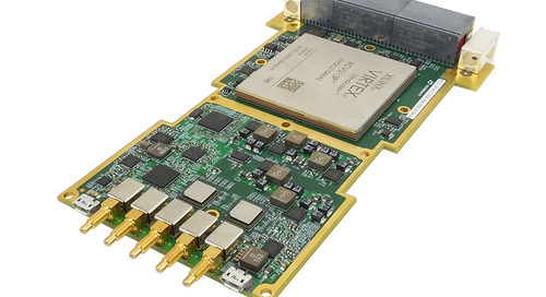 VadaTech Announces New 3U VPX, Dual ADC 12-bit @ 6.4 GSPS, or Quad ADC @ 3.2 GSPS with Virtex UltraScale+