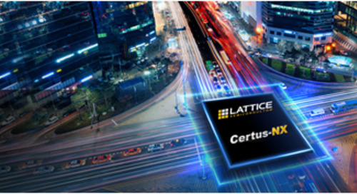 Lattice Releases New Certus-NX FPGA Family