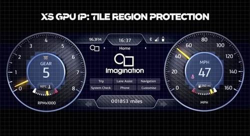 Imagination Announces XS, an Advanced GPU IP for the Automotive Industry