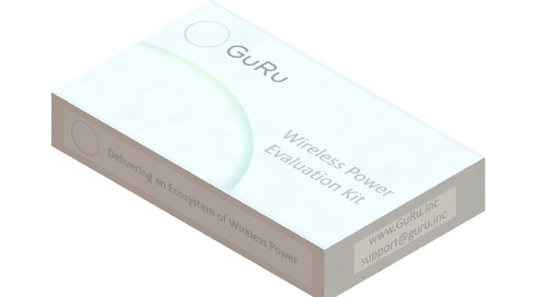 GuRu Releases Over-the-Air Wireless Power Developer Kit