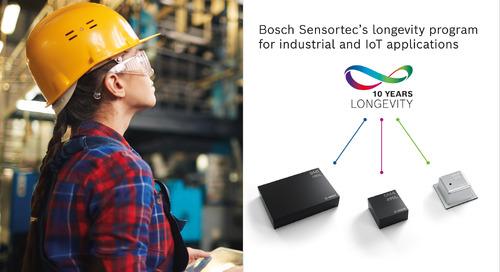 Bosch Sensortec Releases New Longevity Program, Extends Product Portfolio