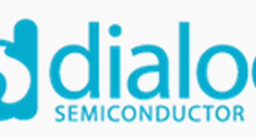 Dialog Semiconductor's FusionHD NOR Flash Memory Compatible and Qualified with its SmartBond Bluetooth Low Energy Wireless MCUs