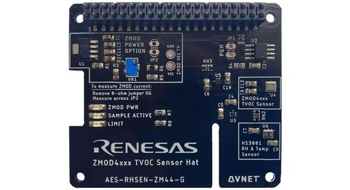 Avnet Introduces Indoor Air Quality Sensor HAT for Raspberry Pi for Rapid Prototyping
