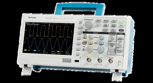 Newark Introduces New TBS1000C Digital Storage Oscilloscope from Tektronix