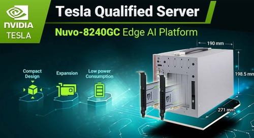 Neousys Edge AI Platform Acquires NVIDIA Tesla Server Qualification