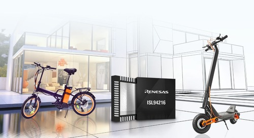 Renesas Introduces 48V Mobility Solution for Complex Inverter Control Algorithms