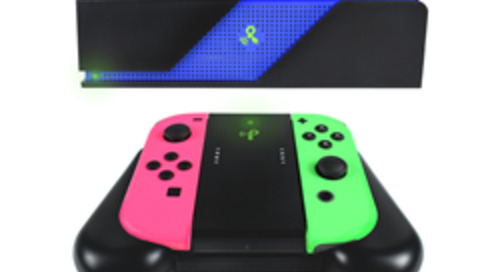 Powercast Releases Over-the-Air Wireless Charging Grip for Nintendo Joy-Con Controllers