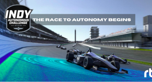 Indy Autonomous Challenge to Use RTI Software to Build and Race Autonomous Vehicles