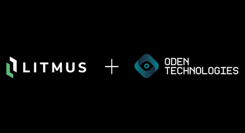 Litmus, Oden Partner to Offer IIoT Solution for Smart Manufacturing