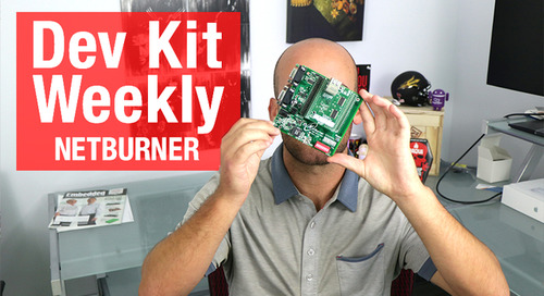 Dev Kit Weekly: NetBurner MODM7AE70 Development Kit