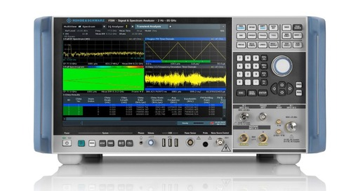 Rohde & Schwarz Releases R&S FSW-B8001 Option for Internal Analysis Bandwidth