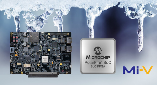 Microchip Releases Icicle Dev Kit for PolarFire FPGAs