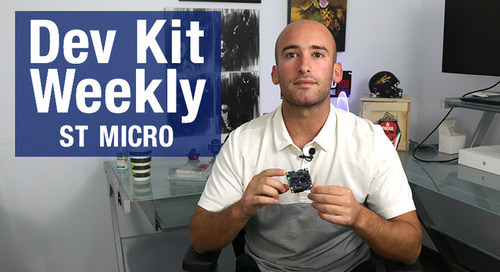Dev Kit Wekly: STMicroelectronics STWIN Starter Kit
