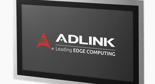 ADLINK Announces Release of IP69K-Rated Stainless Steel Panel PC Series