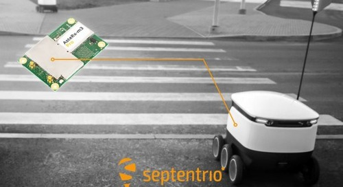 Septentrio Expands GPS/GNSS Portfolio with AsteRx-m3 Pro Receiver Board