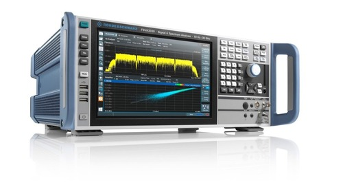 Rohde & Schwarz Adds Internal Analysis Bandwidth to FSVA3000 Analyzer