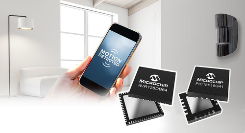Microchip Releases PIC18-Q41, AVR DB MCU Families