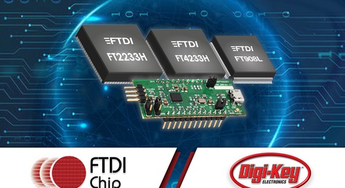 FTDI Chip Honors Digi-Key with Distribution Award