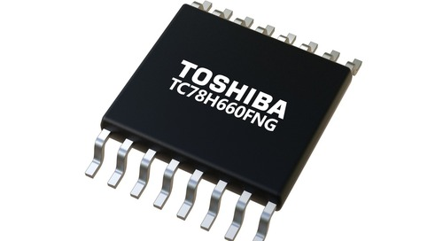 Toshiba Announces New Dual-Channel H-bridge Motor Driver IC with PWM Control