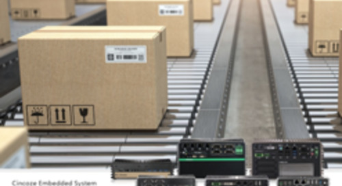 Cincoze High-Efficiency Smart Warehouse Solutions Increase Warehouse Productivity