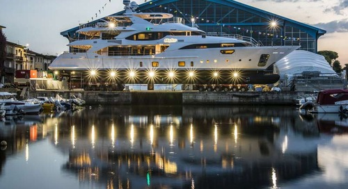 Benetti launches BY009 Crystal 140'