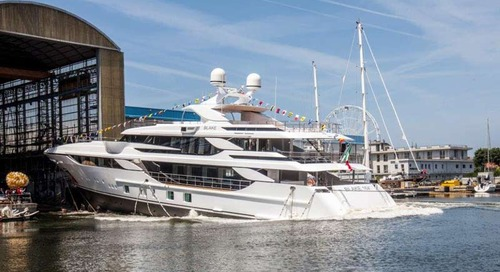 """Benetti launches the new FB803 M/Y """"Blake"""""""