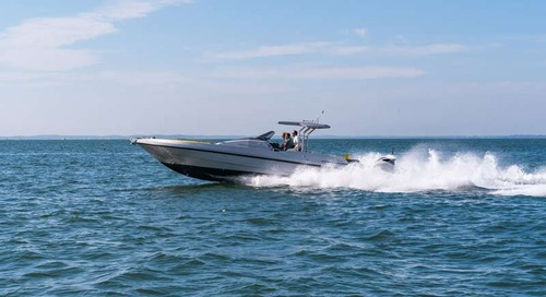 Couach is Celebrating the Launch of its New Generation of Yachts with the Completion of the 1100 Couach.