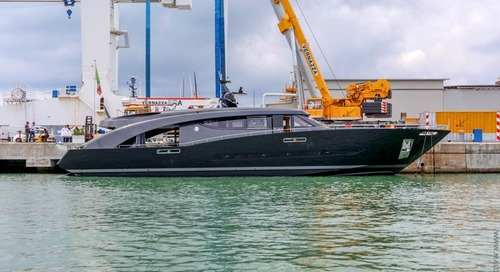 The new yacht for Roberto Cavalli