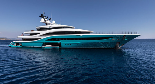 Turquoise Debuts 77m at the Monaco Yacht Show