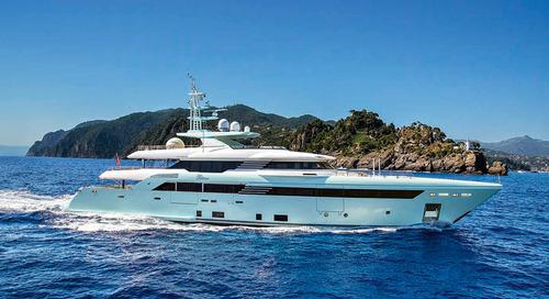 The new 50-metre superyacht Latona