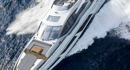 World premiere of Sunseeker's 74 Sport Yacht at Cannes