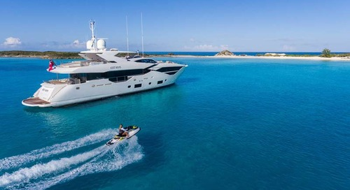 Sunseeker line up for the Monaco Yacht Show