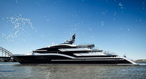 Oceanco delivers 90m superyacht Project Shark