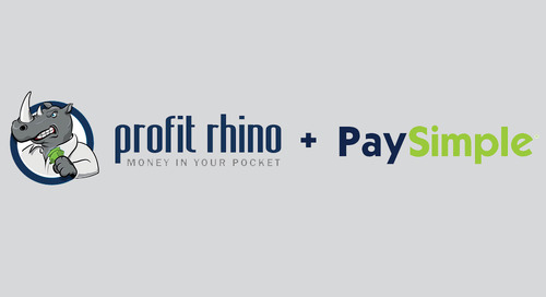 PaySimple Teams with Profit Rhino to Benefit Home Service Businesses