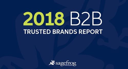 The Most Trusted B2B Brands in 2018 Are Also the Most Profitable, Report Says