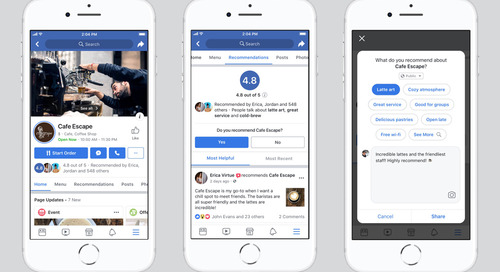 Facebook Says Updates Allow Customers to Interact with More Small Businesses