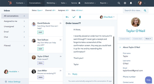HubSpot Conversations Gives Small Businesses Unlimited Chats and Chatbot Capabilities